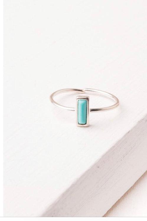 Anna Brett Silver & Turquoise Ring