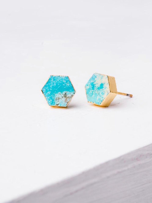Natalie Turquoise earrings