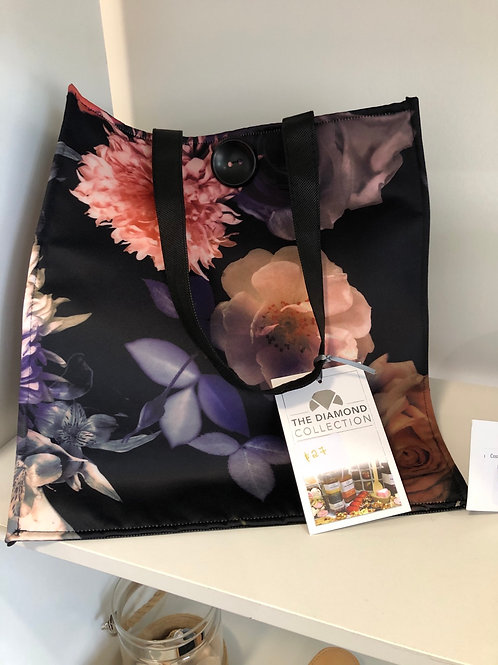 Spring flower tote