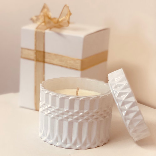 Luxury White Soy Candle