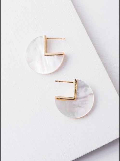 Remy Mother of Pearl Earrings