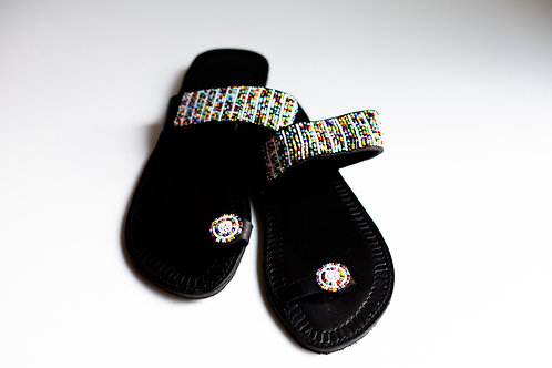 Circle Toe Multicolor