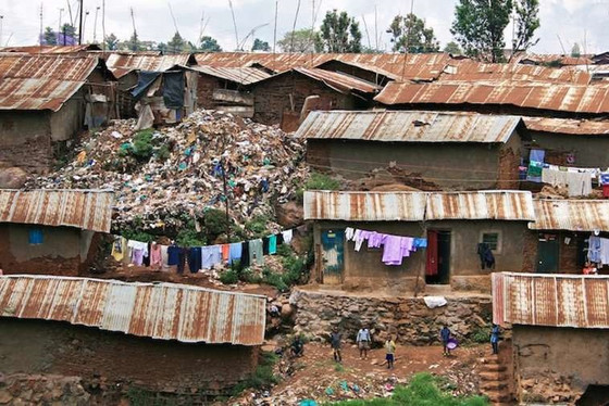 A walk through Kibera