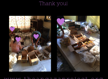 Sending your care bags! Thank you!