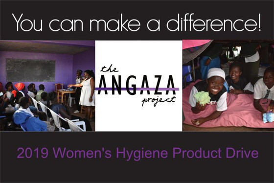 2019 Women's Hygiene Products Drive | Now through December 31