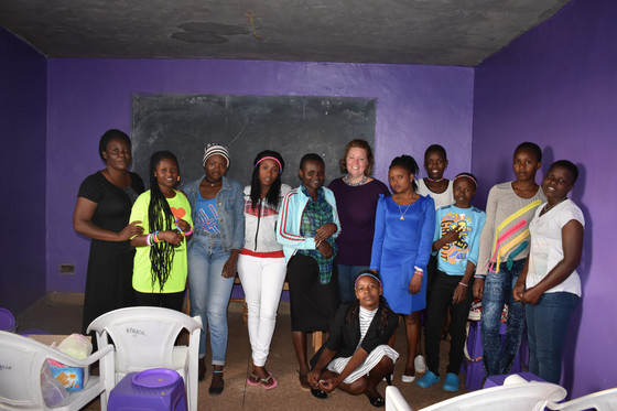 Weekly Girls Empowerment class continues to grow and shine!