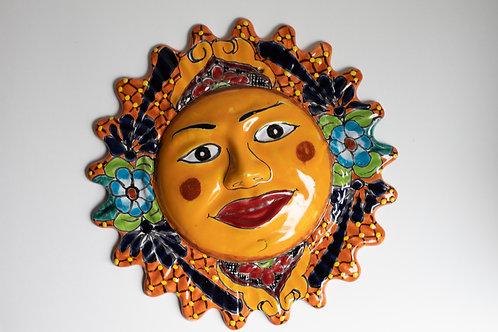 Mexican Talavera Sun and Moon Set