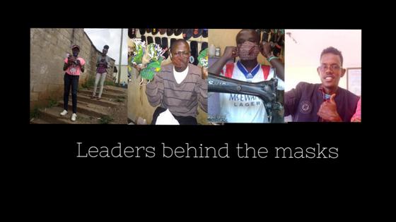 Leaders behind the masks