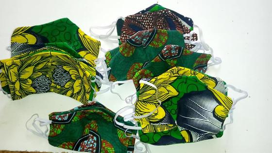 Maridadi Skills Teachers made 480 masks to date!