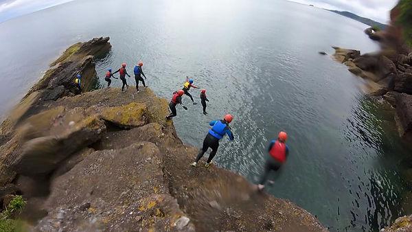 Rock Solid coasteering