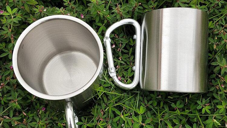 180ml Double Walled Mug