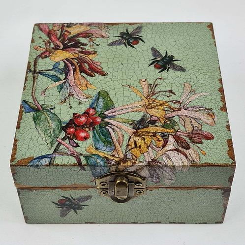 Jo Verity Decoupage Box Honeysuckle