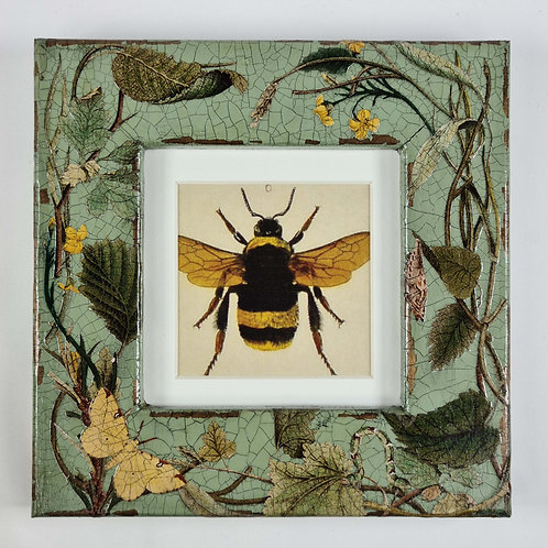 Jo Verity Decoupage Summer Insects Small Picture Frame