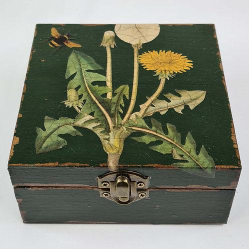 Jo Verity Decoupage Box Dandelion