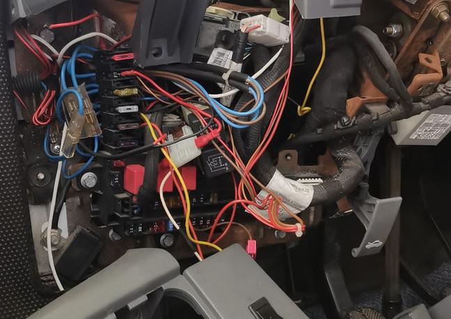 Fiat wiring