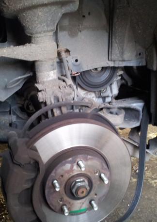 Renault front suspension