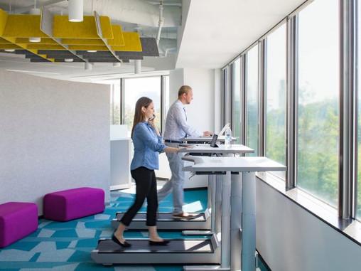 切換到站立式辦公桌 Switch to standing desks
