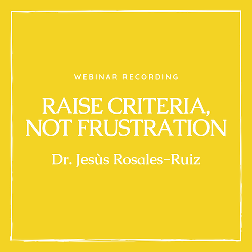 Webinar recording Dr Rosalez-Ruiz July 29, 2018
