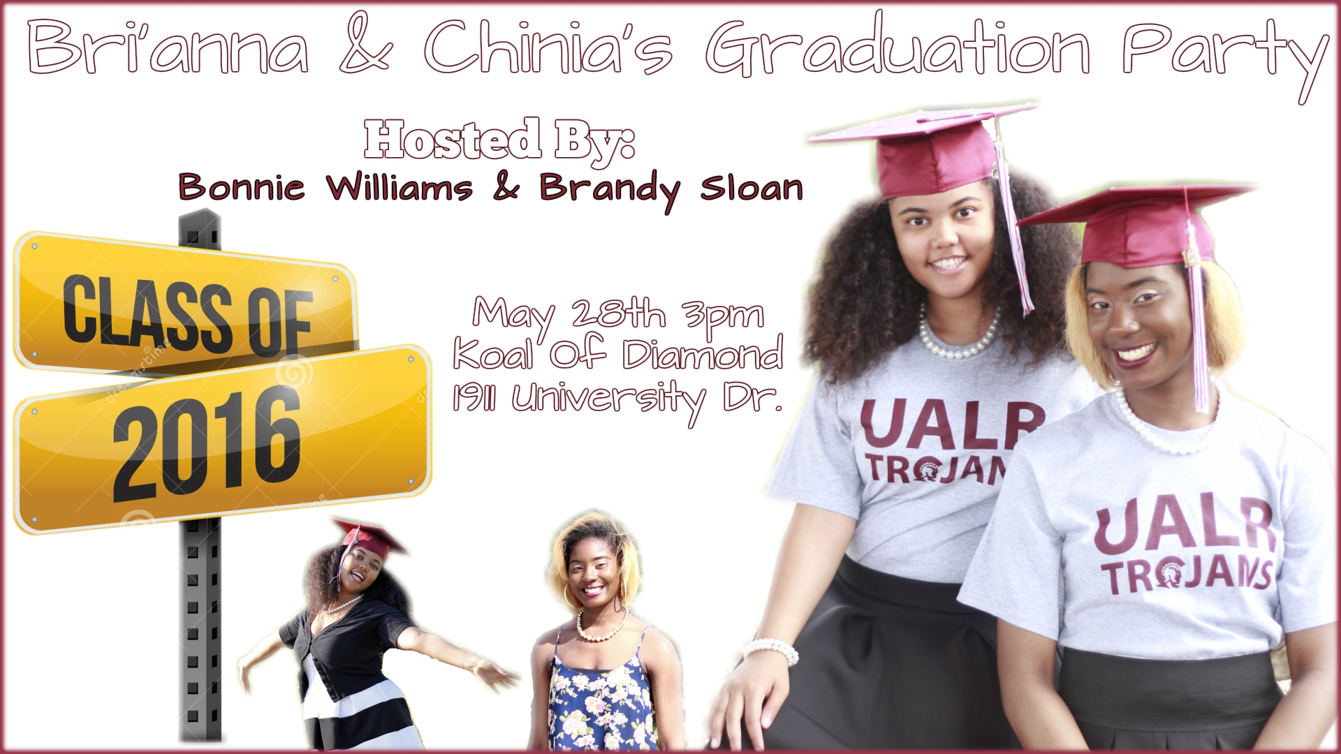 sloan ballard graduation party