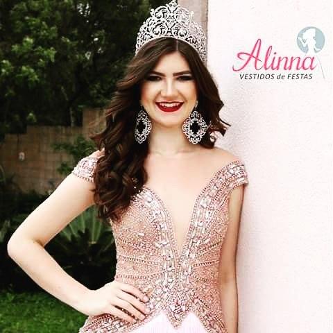 A Miss Teen Paraná, Sollyane Amboni, fic
