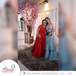 Nossa cliente Cláudia e sua mãe Maria Iz