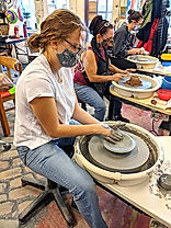 Group Pottery Wheel Lessons