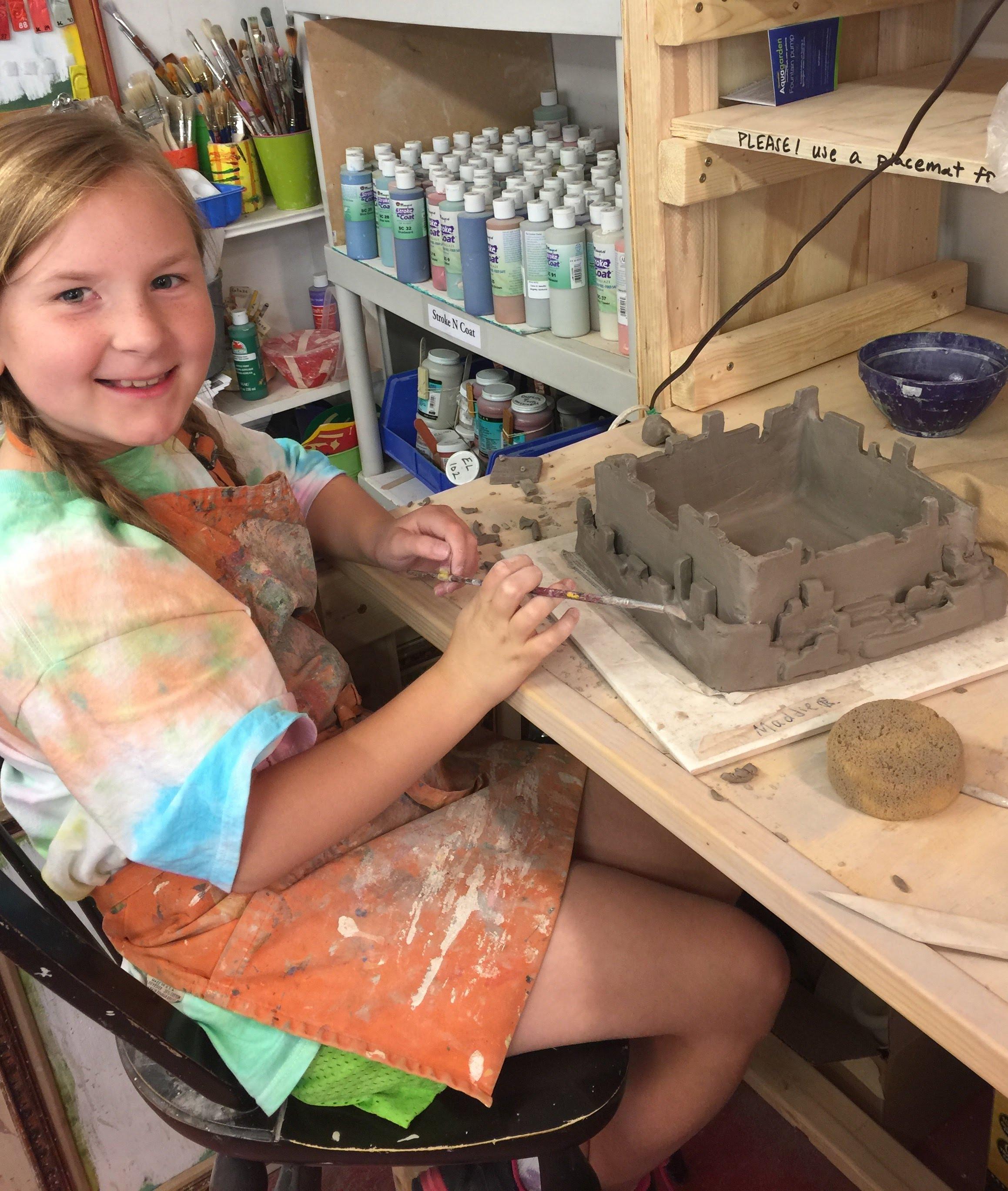 Summer Camp Clay Sculpture