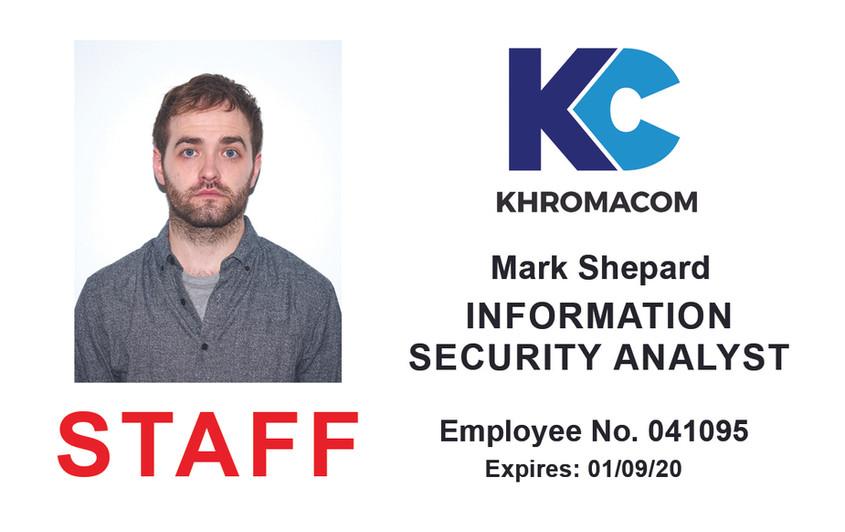 Staff pass for 'Inside Man'