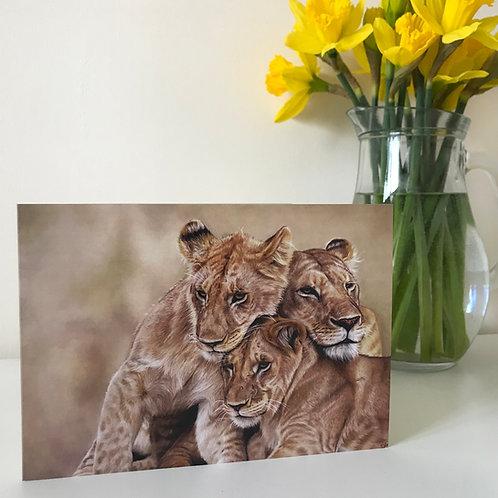 Her Pride - Greetings Card