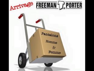 Arrivage de Jean FREEMAN T.PORTER au Hangar des Marques à Plouharnel !