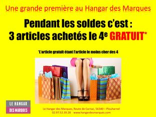 Evènement spécial au Hangar des Marques !