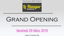 Vendredi 29 Mars 2019, ouverture du Hangar des Marques - Plouharnel