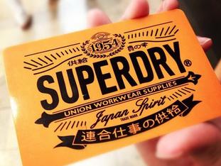 Arrivage de SUPERDRY !