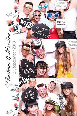 Fotokútik Flashbox na svadbu Dunajská Lužná