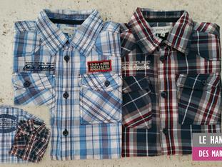 Promo chemise SCOTT enfant au Hangar des Marques - Plouharnel