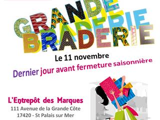 Grande Braderie - 11 Novembre
