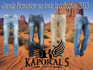 Promo jean Kaporal collection 2015