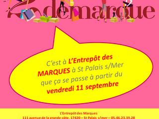 2e démarque à L'Entrepôt des Marques !