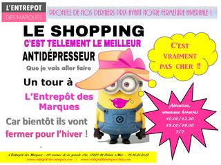 Derniers petits prix à L'Entrepôt des Marques !