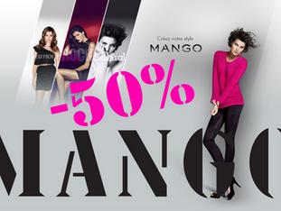 MANGO à -50% au Hangar des Marques - Plouharnel