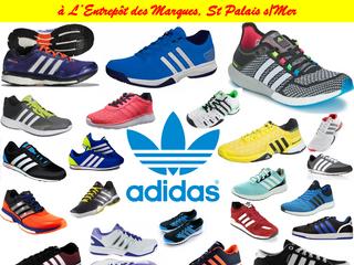 Prochainement gros arrivage chaussures ADIDAS à L'Entrepôt des Marques - St Palais s/Mer