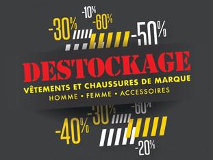 On n'oublie pas que c'est du Destockage permanent au Hangar des Marques - Plouharnel