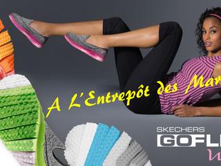 La GOFLEX de chez Skechers à L'Entrepôt des Marques !