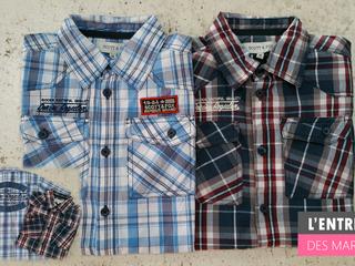 Promo chemise SCOTT enfant à L'Entrepôt des Marques - St Palais s/Mer