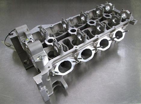 Ferrari cnc porting head