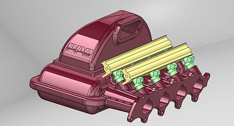 b series intake manifold