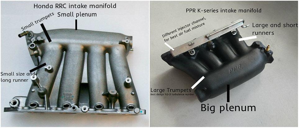 K series intake manifold