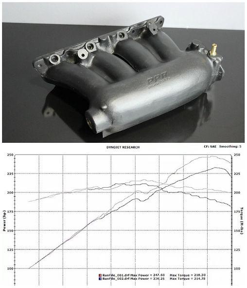 Typer intake manifold