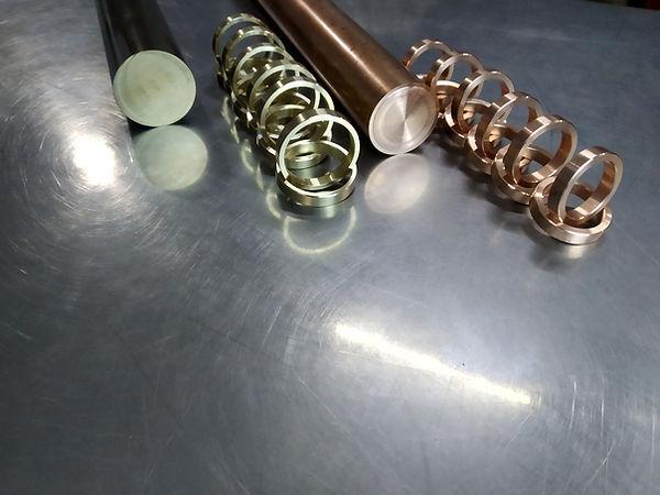 Beryllium valve seat