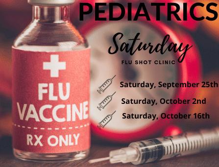 Saturday Flu Shot Clinic 2021